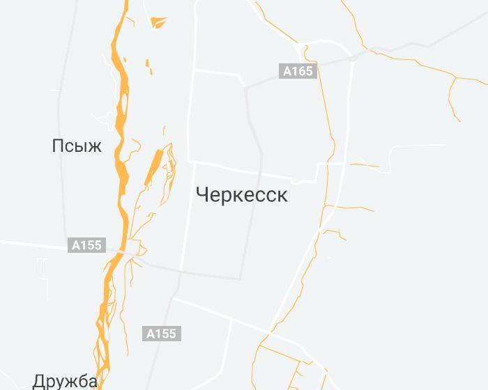 Средняя зарплата в Черкесске в 2019 году