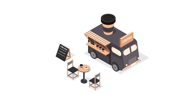 Как открыть мобильную кофейню на колесах